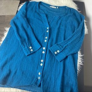 Soft surrounding linen cotton blend XL A8